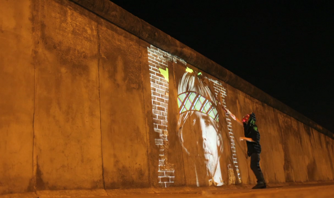SWEATSHOPPE: Video Painting en Europa
