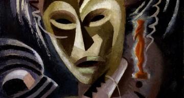 """Lois Mailou Jones. Les Fetiches &#8211; <a href=""""http://mol-tagge.blogspot.com.es/2010/11/arte-artista-negra-pintora-obra.html"""" target=""""_blank"""">blogspot.com.es</a>"""