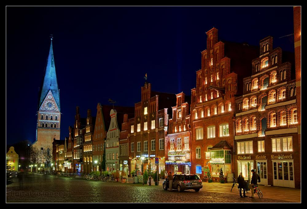 Am Sande, la plaza principal de Lüneburg - Fotografía obtenida de fotocommunity.de.