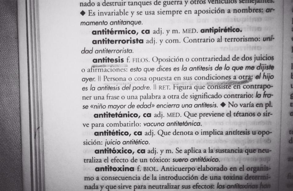 Antítesis