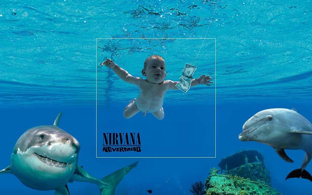 Versión extendida de las portadas de discos más famosas