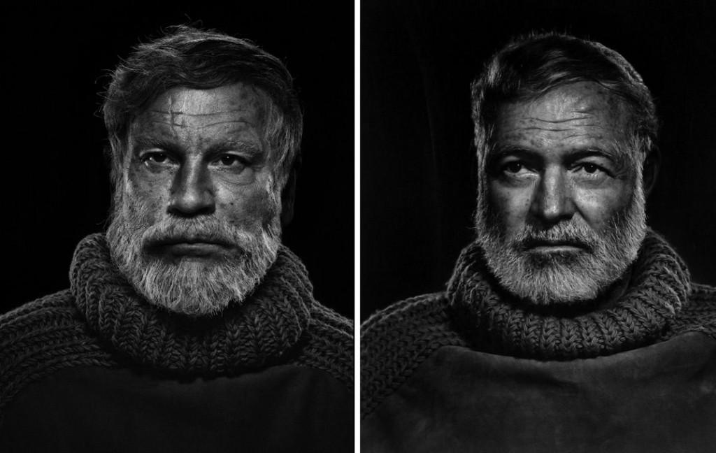 Yousuf Karsh / Ernest Hemingway