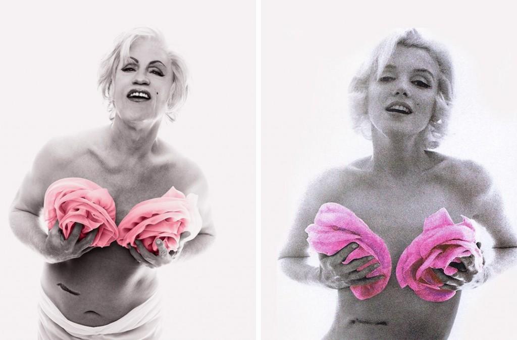 Bert Stern / Marilyn con rosas