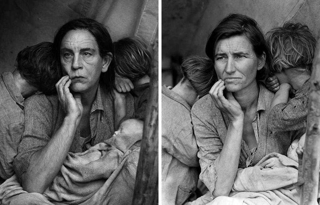 Dorothea Lange / Madre  migrante