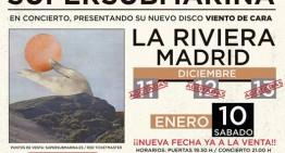Supersubmarina presenta en Madrid «Viento de Cara»