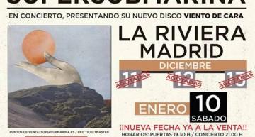 """Supersubmarina presenta en Madrid """"Viento de Cara"""""""