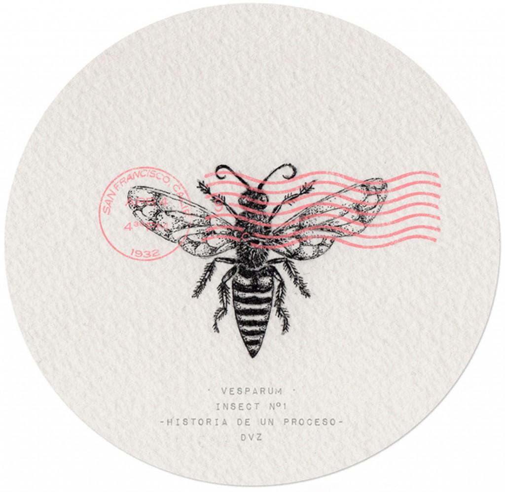 Insect No.1 - Historia de un Proceso - Tinta // Madrid, 2015 // DVZ