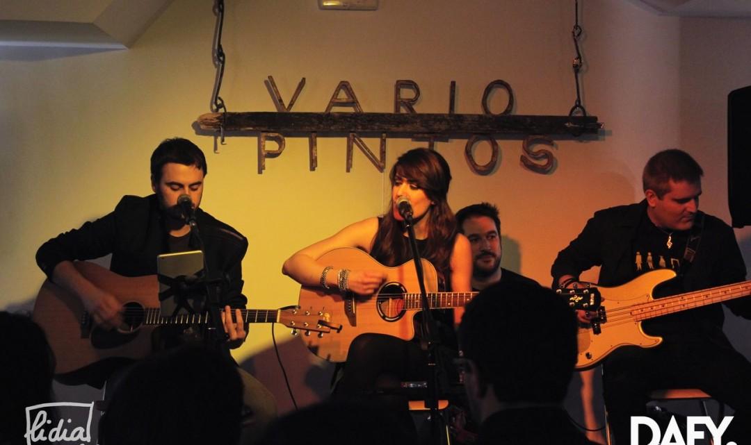 """Versilia @ Variopintos (14/02/15) – Presentación del videoclip """"Dime De Qué"""""""