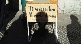 Momentoverso: la poesía también se escribe en la calle