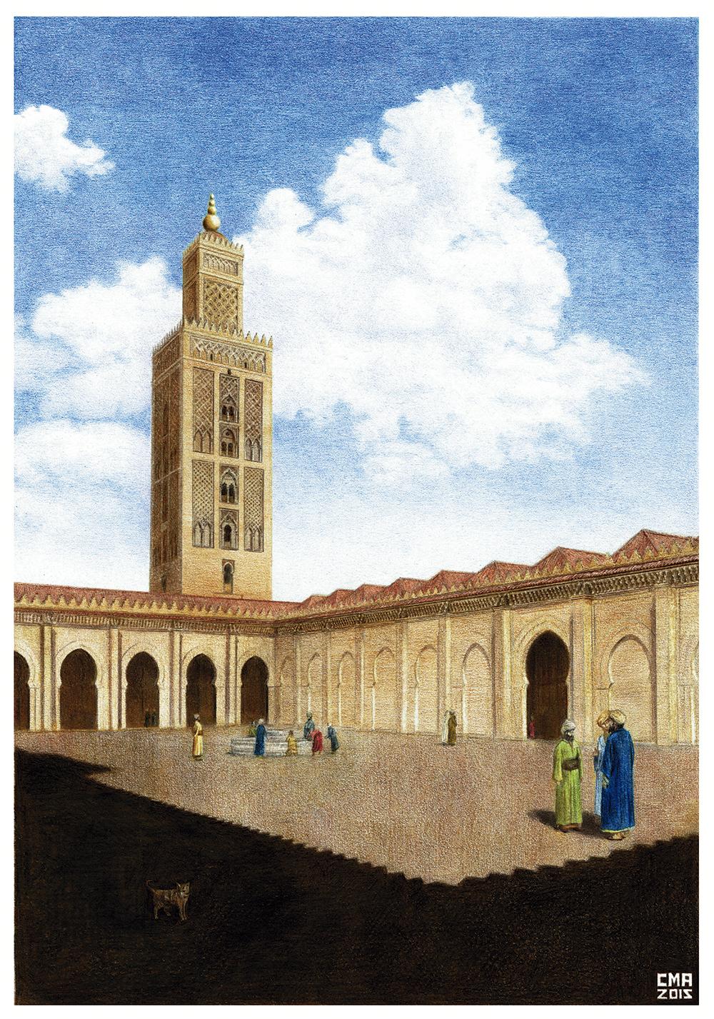 Mezquita de Sevilla DAFY RGB