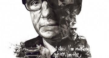 Carteles de directores de cine. Homenaje a Scorsese, Lynch y Hitchcock
