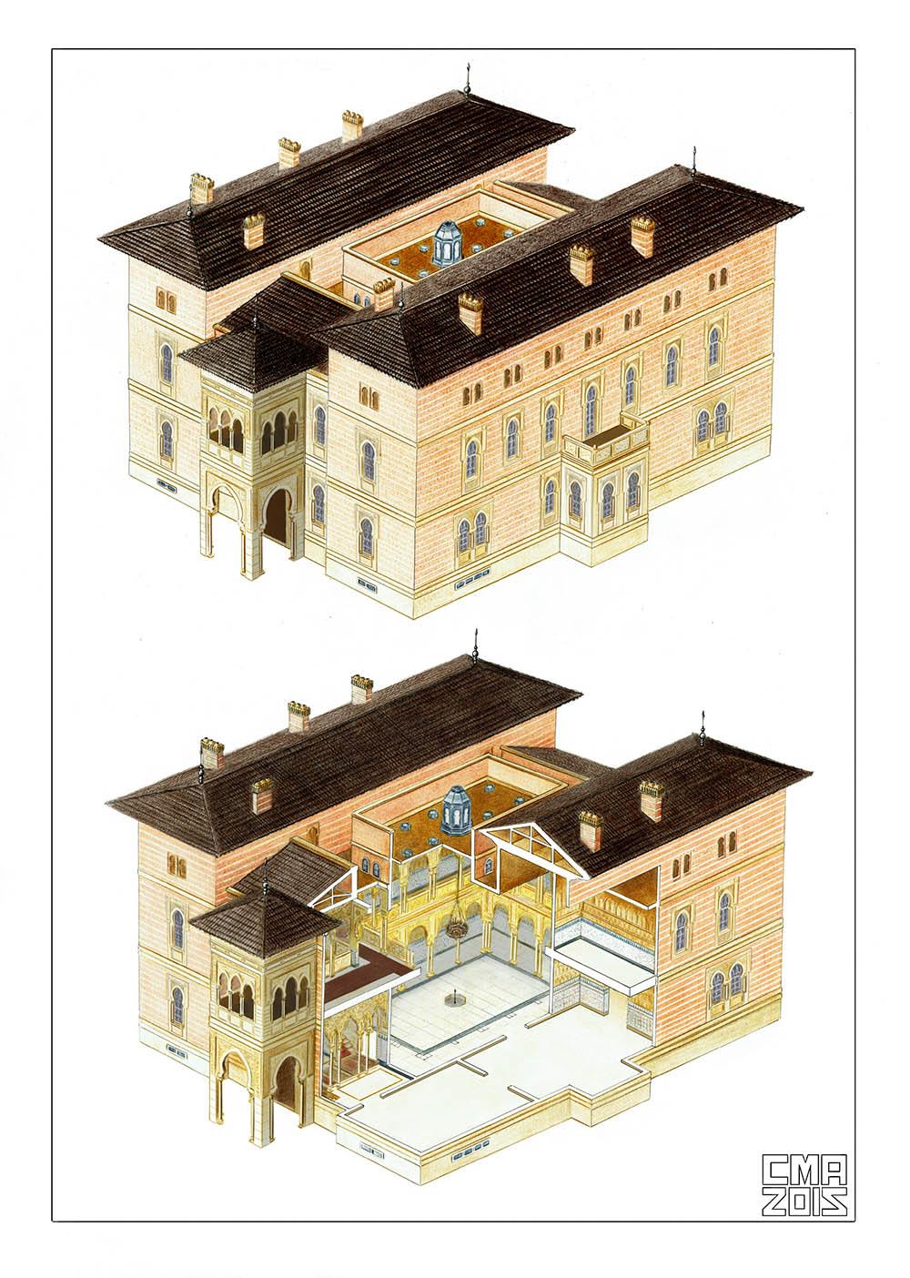 Palacio Xifré-Interior2 AI
