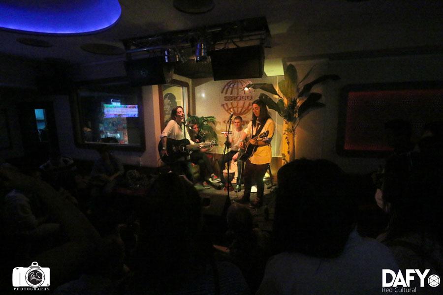 Marta Espinosa & Martha Carpe @ Siroco (8/05/15)