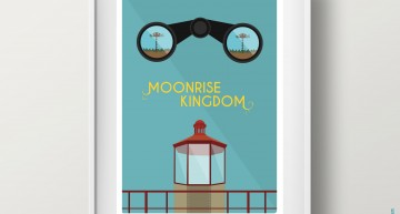 Poster 'MOONRISE KINGDOM'