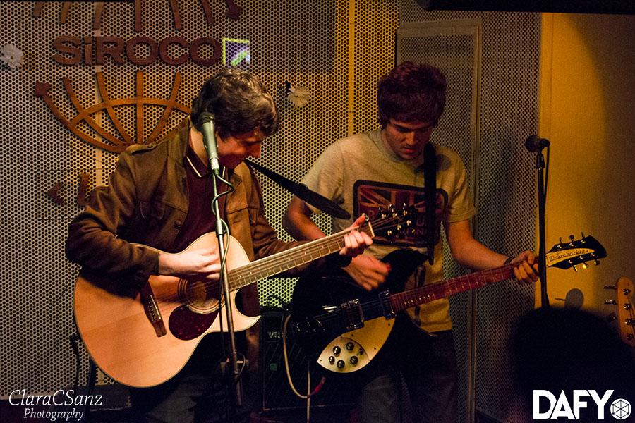Gonzalo Barbero & The Sharrocks @ Siroco (07/11/15)