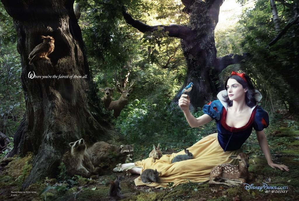 Rachel Weisz es Blancanieves