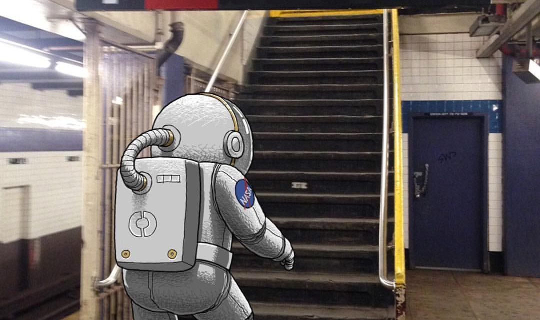 Subway Doodle, criaturas en el metro de NY