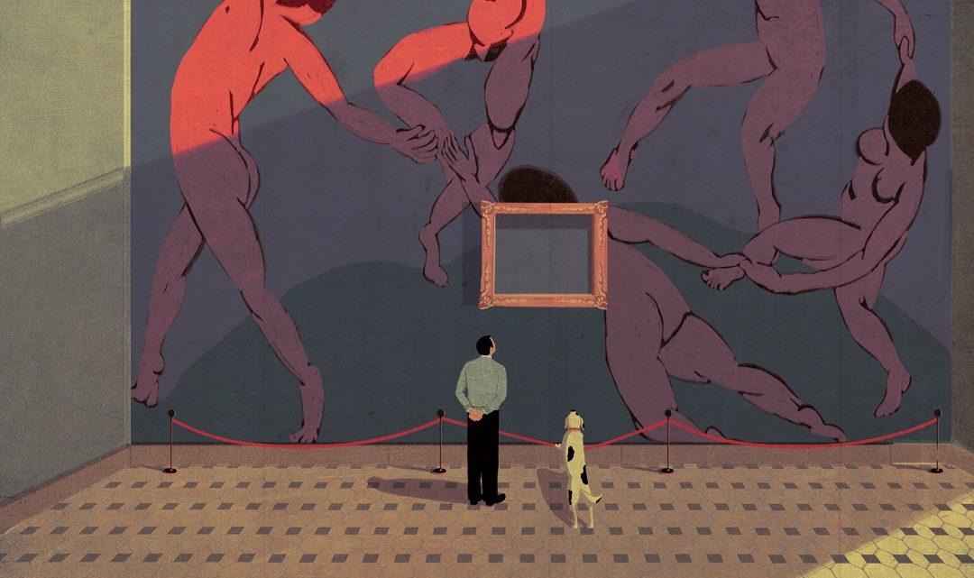 Andrea Ucini – Ilustración sobre conflictos sociales