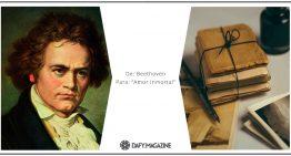 """Correspondencia célebre: De Beethoven a un """"Amor inmortal"""""""