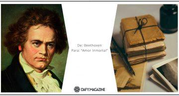 Correspondencia célebre: De Beethoven a un «Amor inmortal»