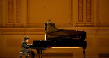 Nobuyuki Tsujii, el joven ciego y virtuoso del piano.