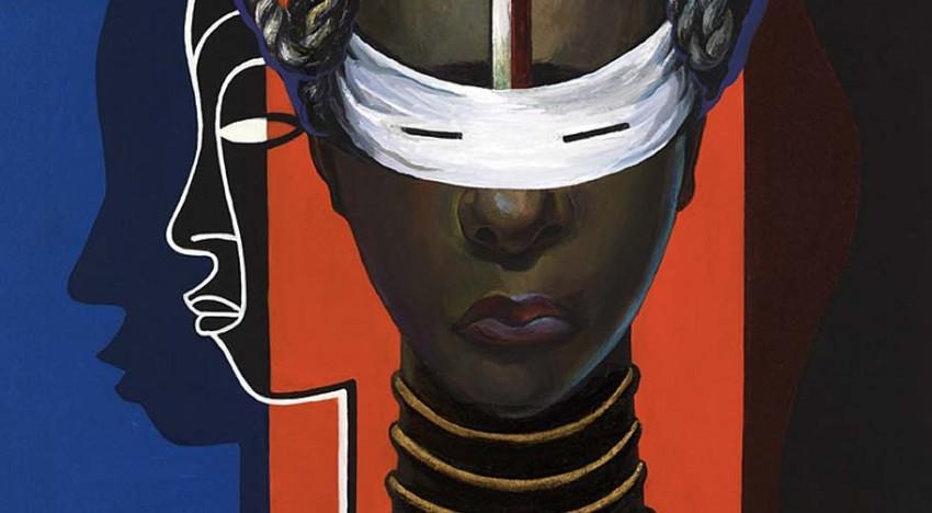 """Lois Mailou Jones. Iniciação Libéria  – <a href=""""http://mol-tagge.blogspot.com.es/2010/11/arte-artista-negra-pintora-obra.html"""">blogspot.com.es</a>"""