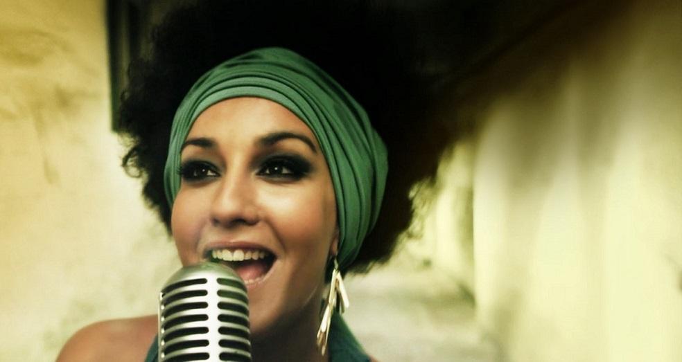 Leila, cantante de Soul/R&B - Fotografía de archivo de la artista.