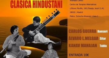 Concierto de música clásica Hindustani.