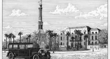 Madrid. Plaza Colón 1930