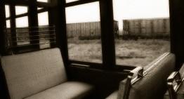 Café para los recuerdos del tren.