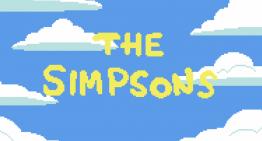 """""""Los Simpsons"""" en pixeles"""