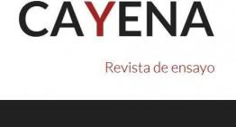 Cayena, una nueva revista de ensayo