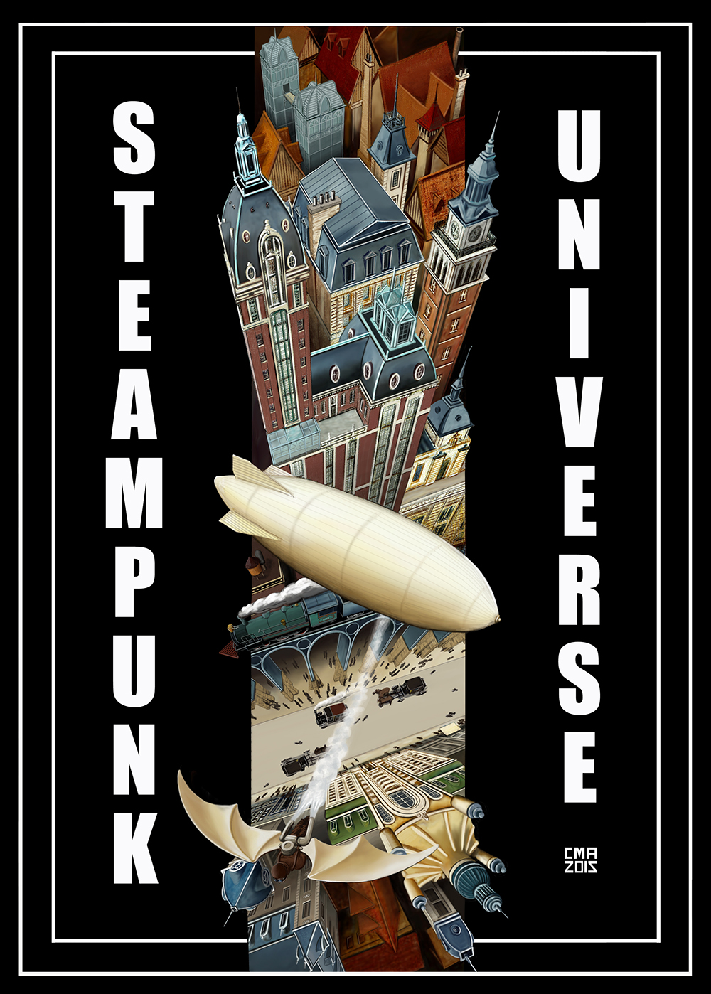 Steampunk City GRANDE dafy
