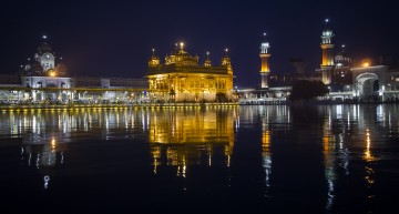 El gran templo dorado del Sijismo