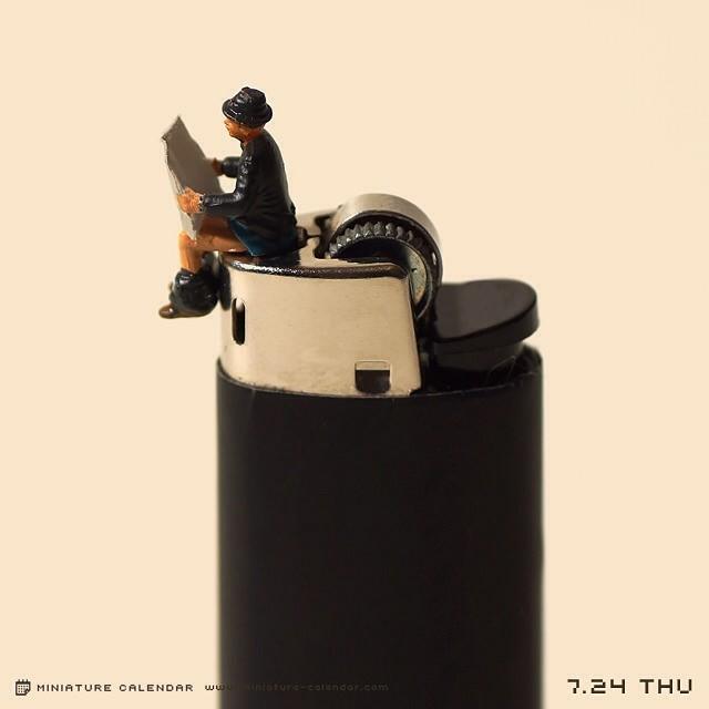 Tanaka Tatsuya, Miniature Calendar