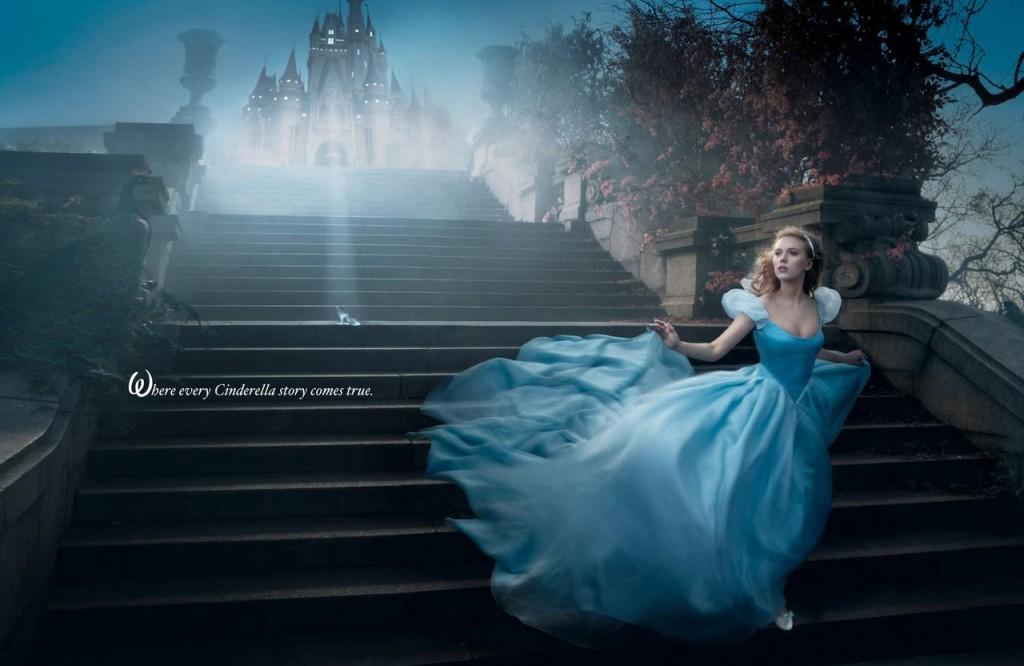 Scarlett Johansson es Cenicienta.