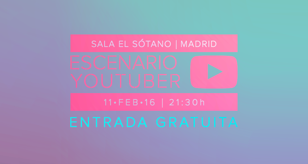 Escenario YouTuber
