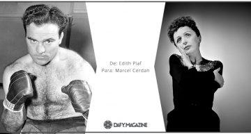 Correspondencia célebre: De Edith Piaf a Marcel Cerdan