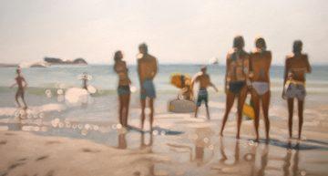 Así se ve la vida con miopía | Pintura de Philip Barlow