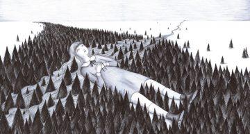 Siniestra pero sublime | Ilustración de Virginia Mori