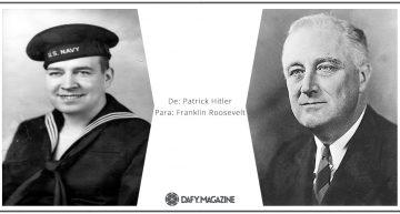 Correspondencia célebre: De Patrick Hitler a Franklin D.Roosevelt
