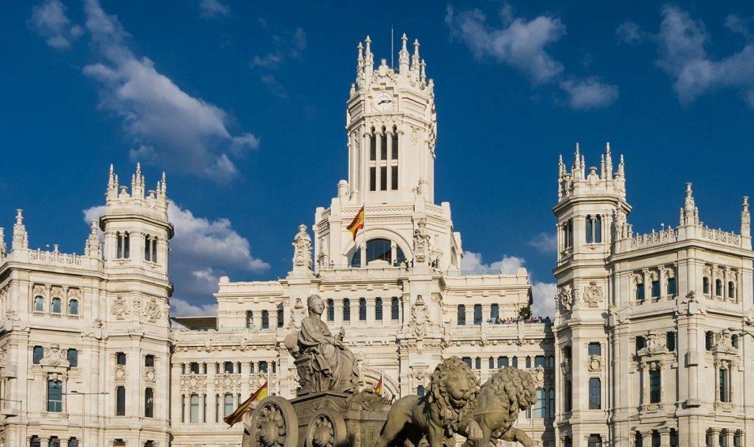 Madrid, quédate en casa, volveremos a unirnos, invencibles
